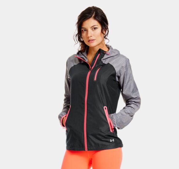 ua qualifier woven jacket