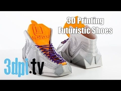 3D Printing Your Future Shoes with Filaflex - YouTube. Marty McflyThe Future 08ce0bc0b