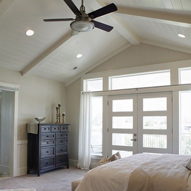 "167 Likes, 16 Comments - Millhaven Homes (@millhavenhomes) on Instagram: ""#vaulted #finishwork #millhavenhomes #customhome #newconstruction #masterbedroom #utahbuilder"""