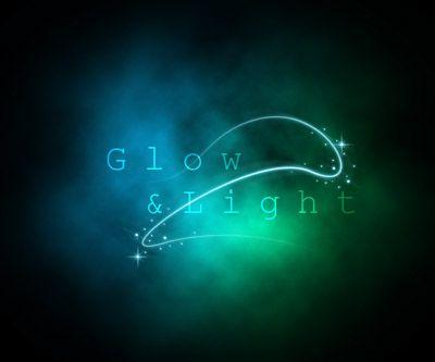 Photoshop glow effect