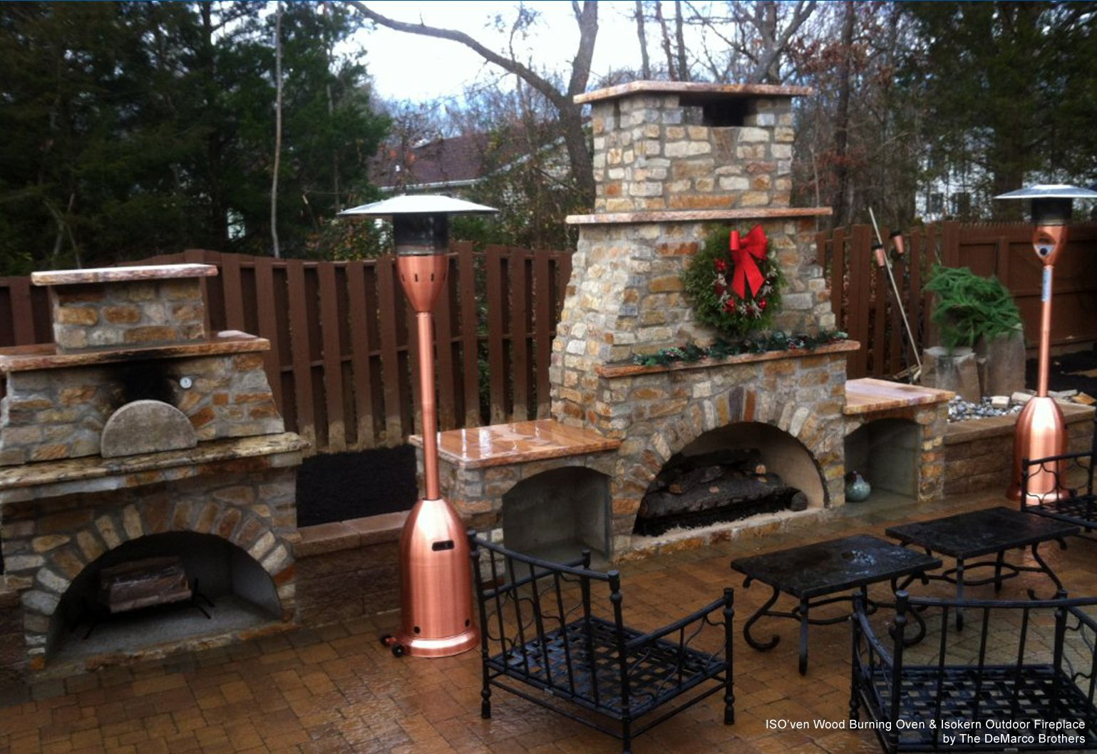 entertaining outdoors during the holidays | gazebos, chickee huts