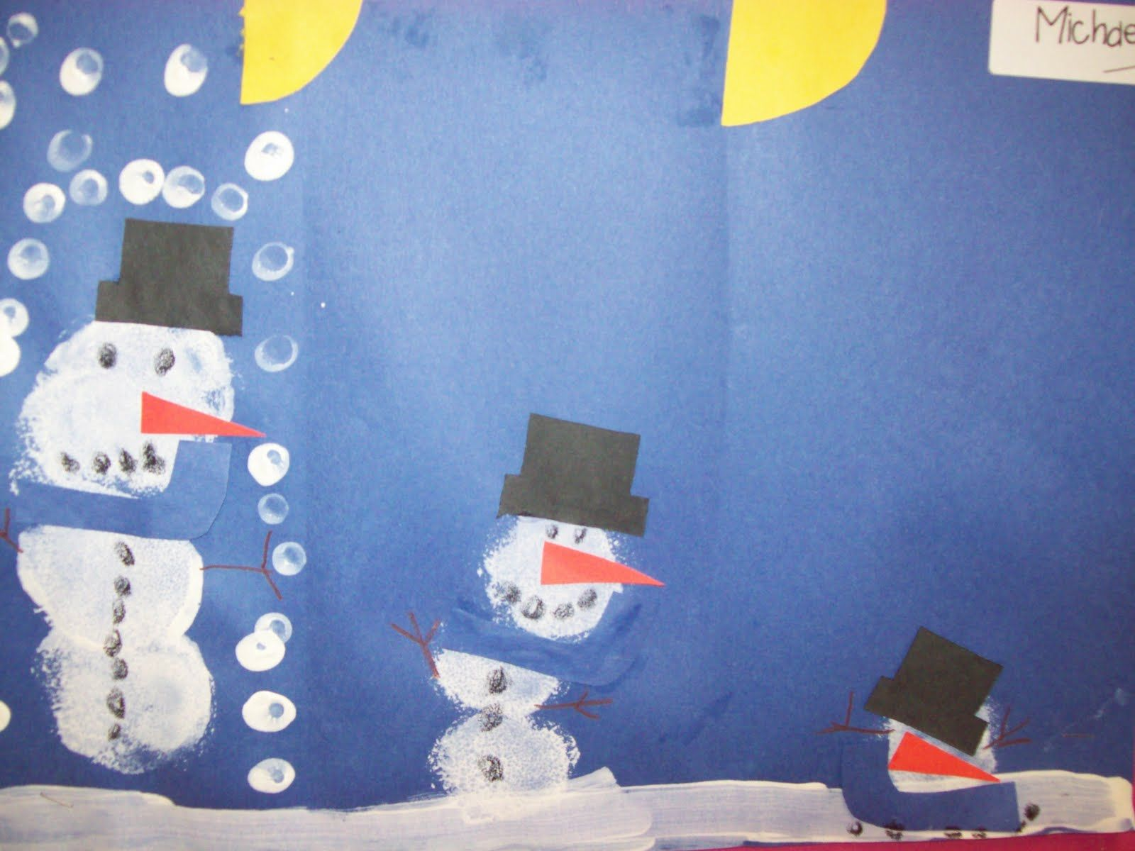 Snowman Sequencing With Images