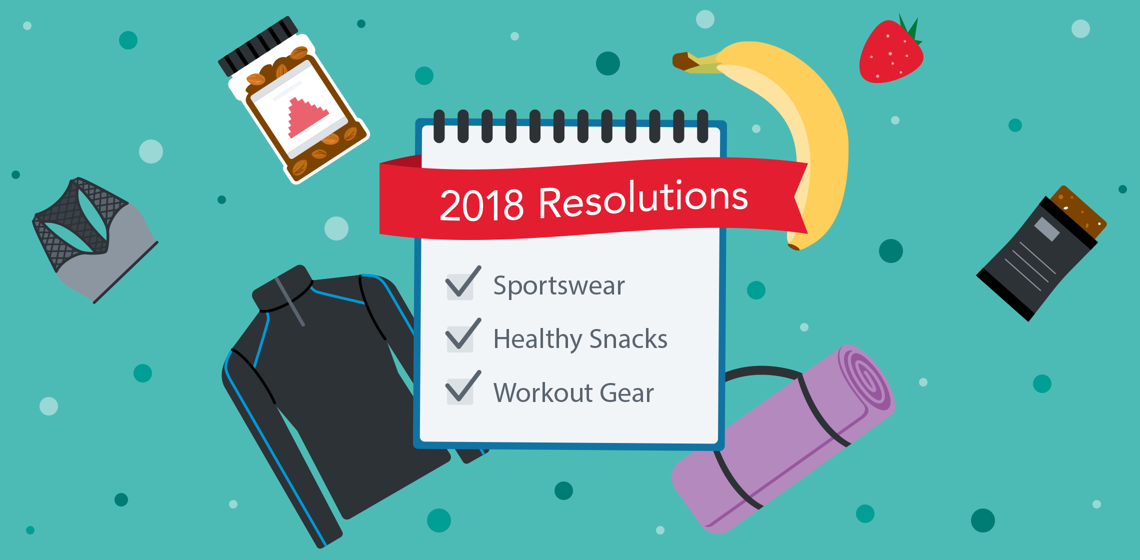 Get fit while earning kicks towards free gift cards with Shopkick. Check out our guide to achieving your fitness resolutions.