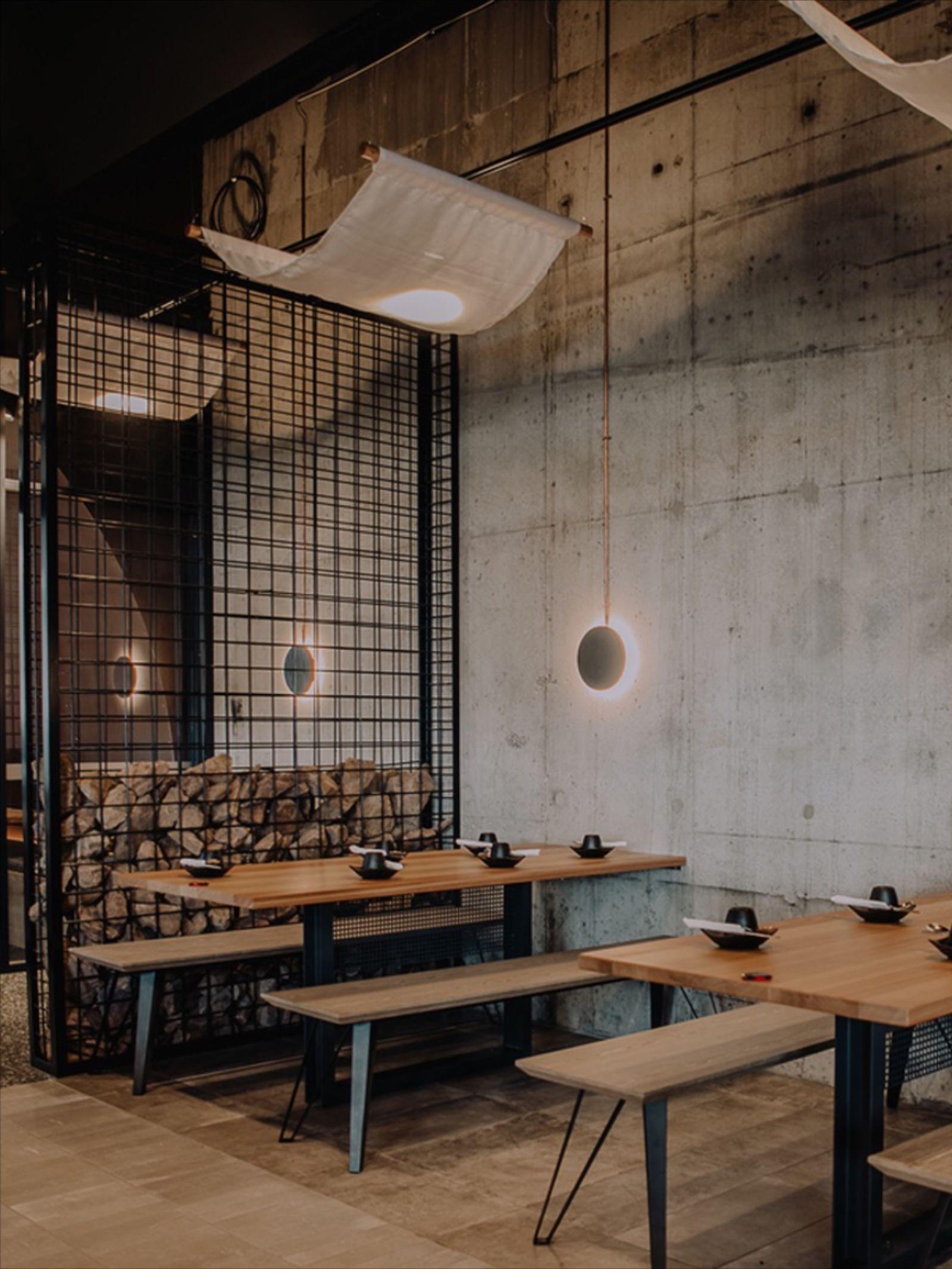 Dining Area At Masizzim Restaurant In Melbourne Japanese Restaurant Interior Restaurant Interior Design Japanese Restaurant Design
