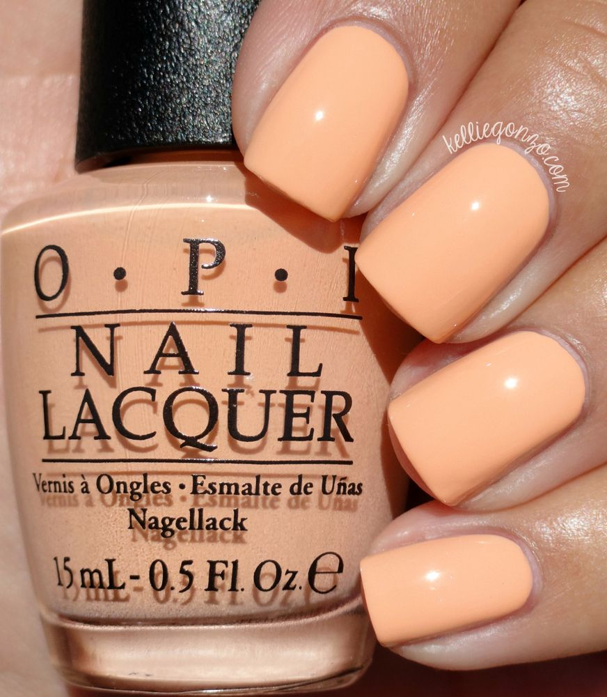 Opi ium getting a tangerine kelliegonzoblog opi polish colors