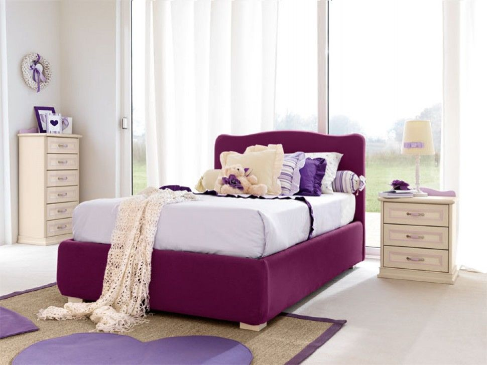 Prenatal camerette ~ Camerette arcadia letto per bambini finitura magnolia e turchese
