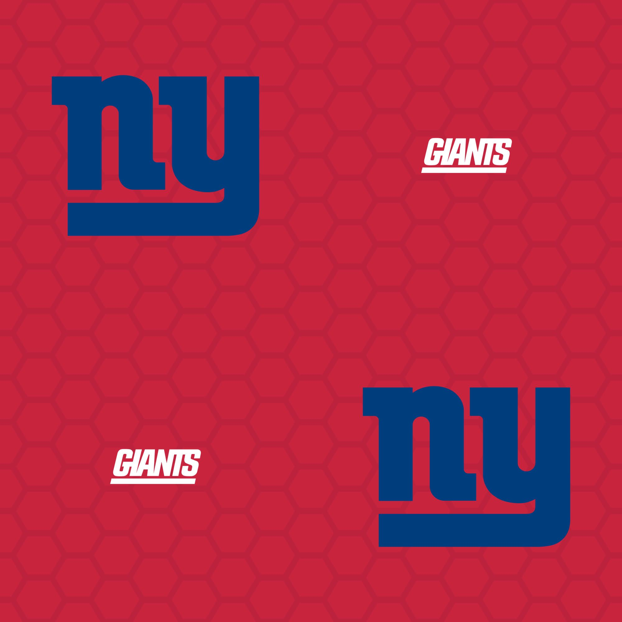 New York Giants Logo Pattern (Red) Officially Licensed