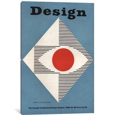 Design Magazine Cover Series October Vintage Advertisement