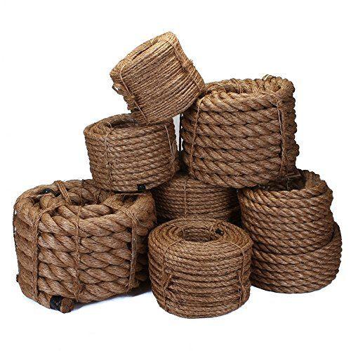 Fms Natural Manila Rope Cordage Multiple Diameters And Https Www Amazon Com Dp B01hr8woxi Ref Cm Sw R Pi Dp U X Tmvja Manila Rope Rope Decor Sisal Rope