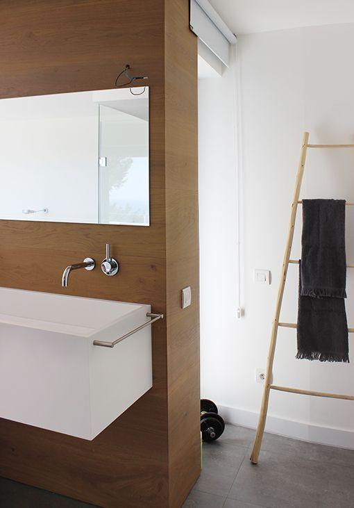Adesivo De Parede Arvore Infantil ~ Dormitorio con cuarto de baño integrado muebles de lavabo Apartamento Pinterest Muebles