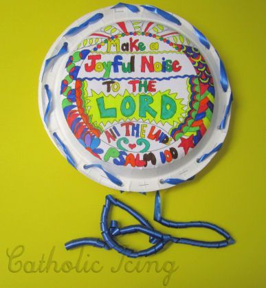 Make a Joyful Noise to the Lord - Bible Craft for Kids ...