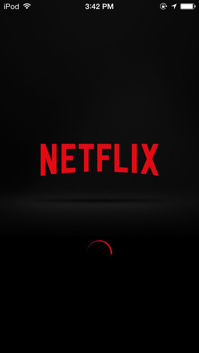 The new Netflix loading screen reminds me of The