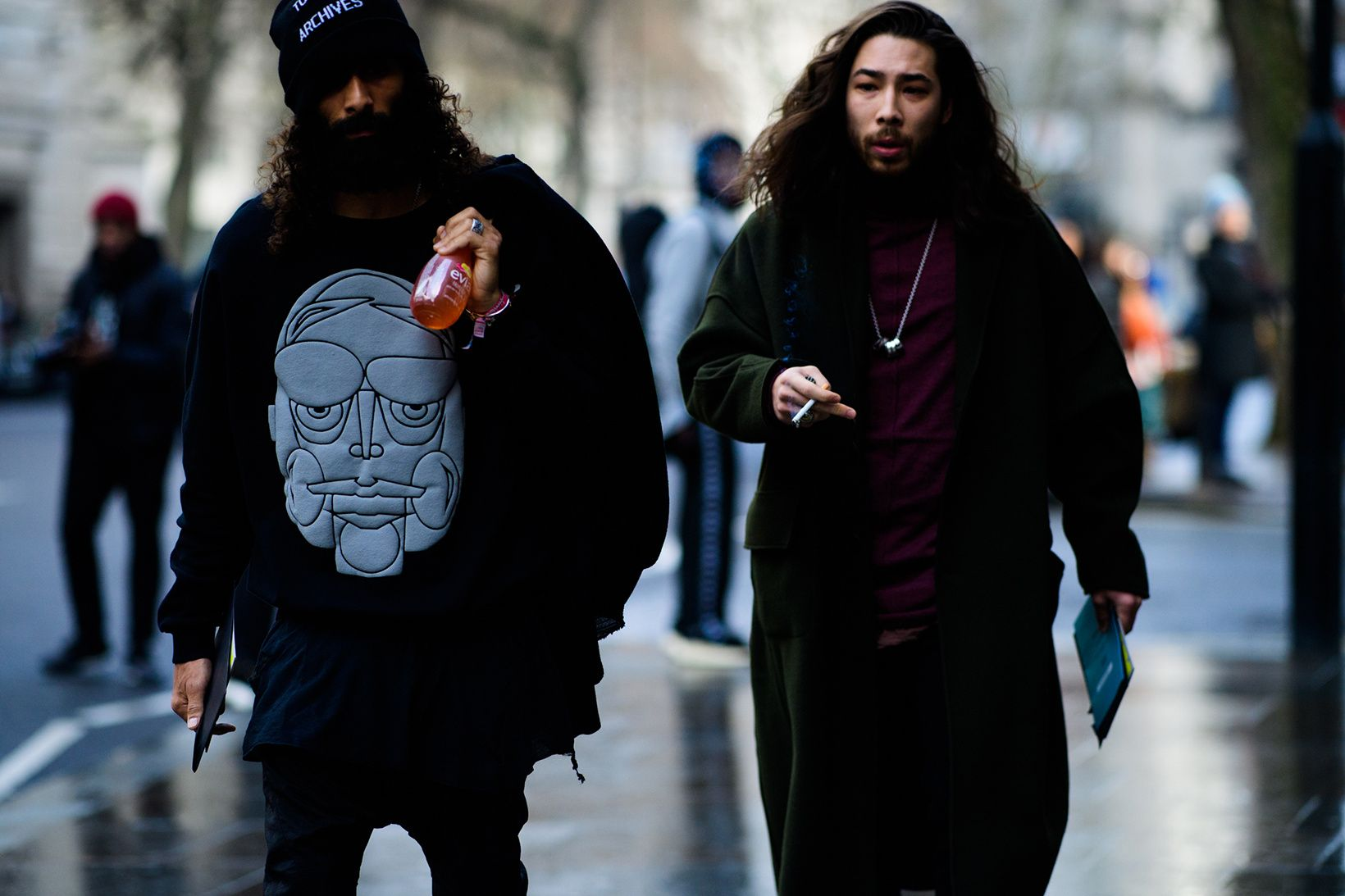 London Fashion Week 2017 Fall/Winter Men's Day 4 Streetsnaps | HYPEBEAST