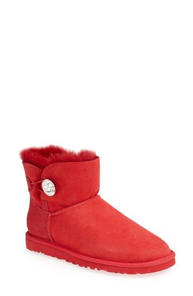 UGG® Australia 'Mini Bailey Button Bling' Boot (Women) available at #Nordstrom
