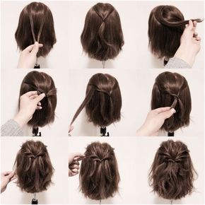 Kisa Saclar Icin Orgu Modelleri Hair Braids For Short Hair Braids