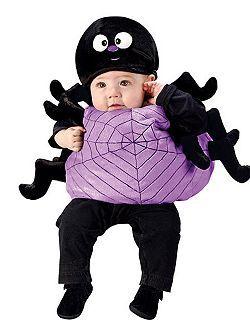 newborn infant spider cheap halloween costume for