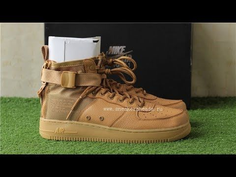 fa9a5fdc80f5 Top Nike Special Field Air Force 1 Mid SF-AF1 Wheat review from www.snea.