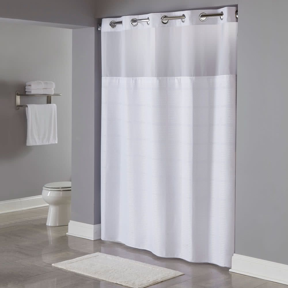 Hookless Hbh20mpt01sl White Repet One Planet Hookless Shower