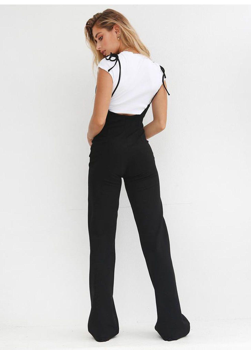 Fanny - Fanny Fashion Womens Black Lace Top Full Length