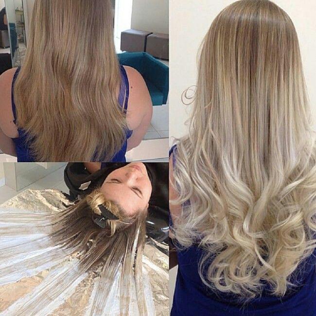 Fluid Hair Painting Hair Hair Color For Women Fluid Hair Painting