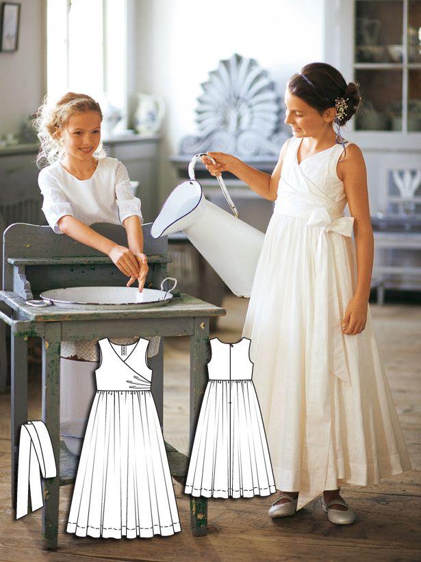Fancy Girls Dress 02/2011 #146 | Kommunion, Kommunionkleid und Braut