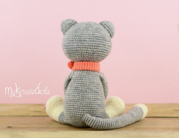 Crochet Pattern - My Little Kitty | Hračky | Pinterest | Kitty ...