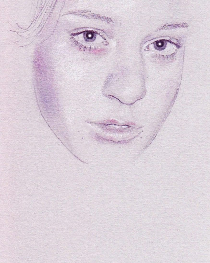 Love this illustration of @chloessevigny by the amazingly talented illustrator @cedricrivrain!!!