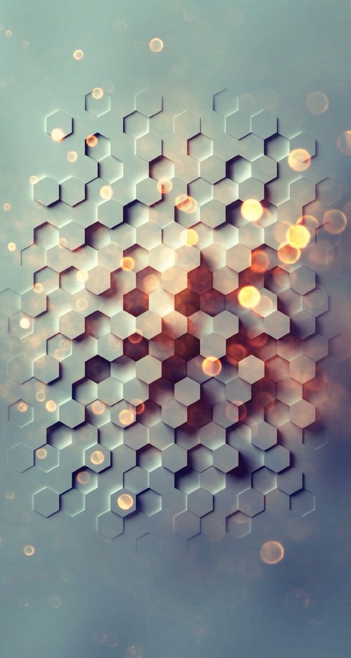 Awesome Phone Wallpapers Honeycomb Wallpaper 3d Wallpaper Iphone Geometric Wallpaper