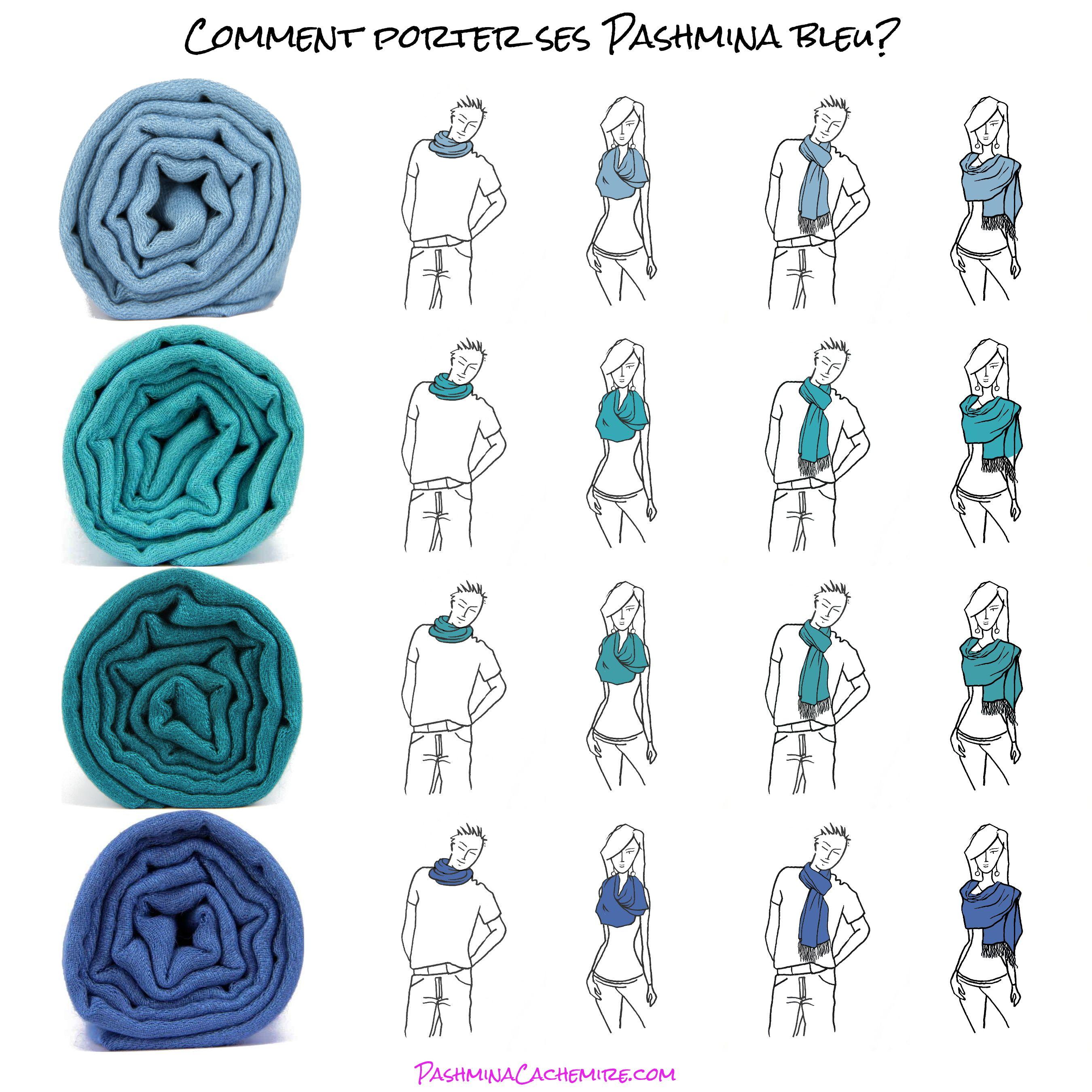 951335c7dd48 Comment porter, associer et marier la couleur bleu   avec quoi l ...
