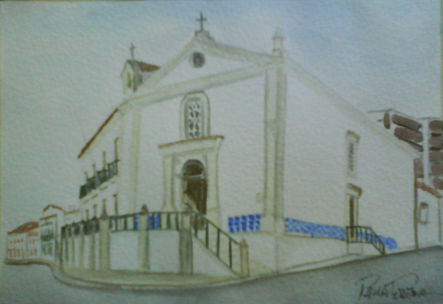 Igreja da misericordia em Alcobaça