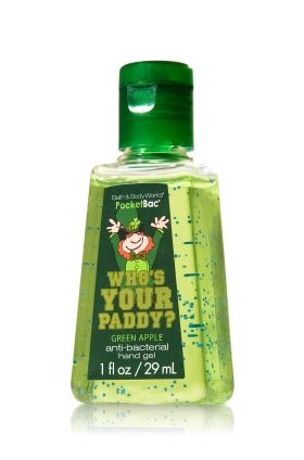 Who S Your Paddy Anti Bacterial Pocketbac Sanitizing Hand Gel