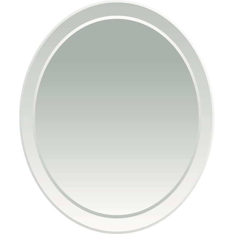Find Everton 600mm Oval Polished Bevel Edge Mirror at