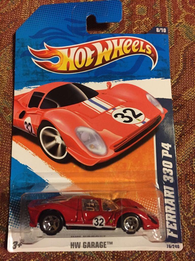 Hot Wheels Ferrari 330 P4