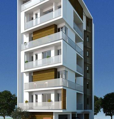 3 Storey Residential Apartment Building Building Design