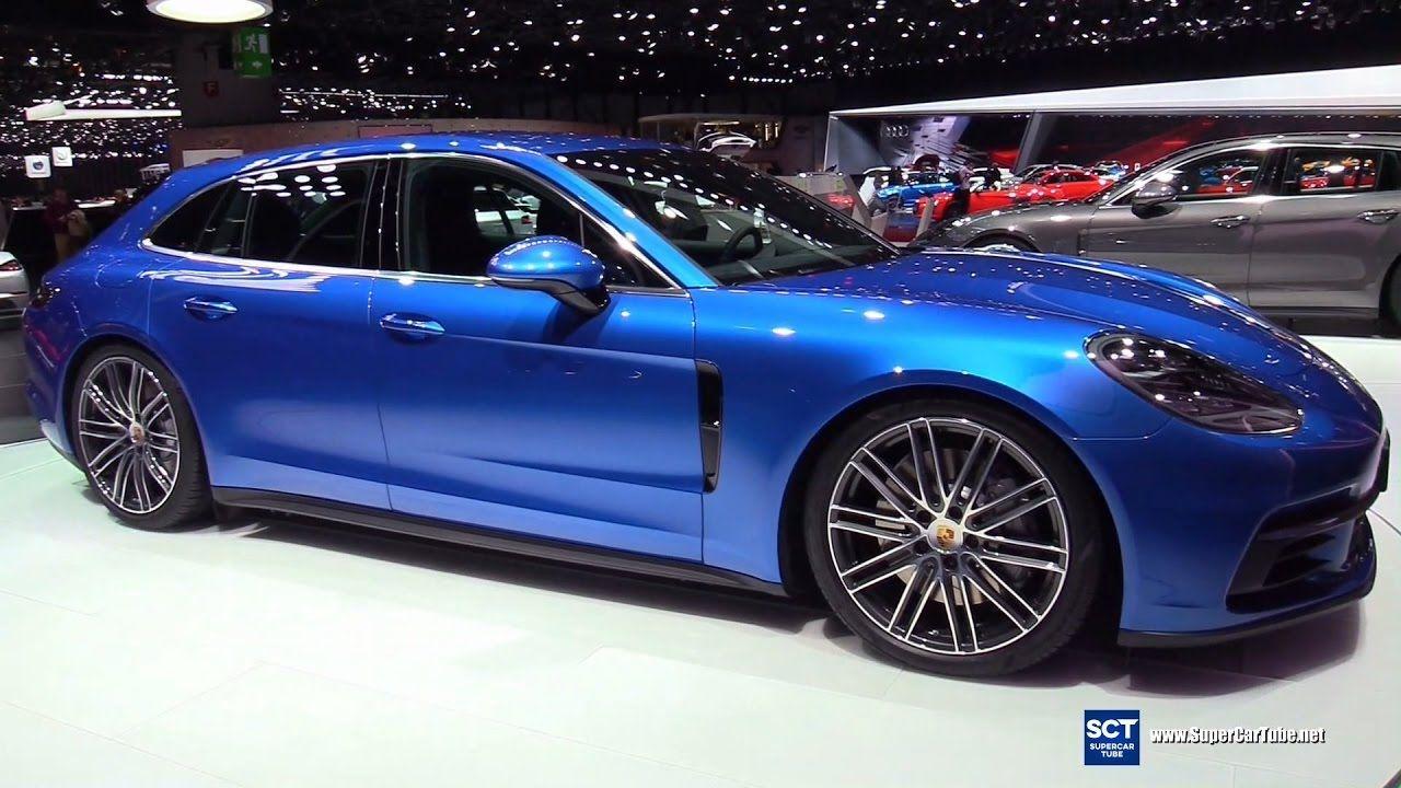 2018 Porsche Panamera 4S Sport Turismo Exterior Interior