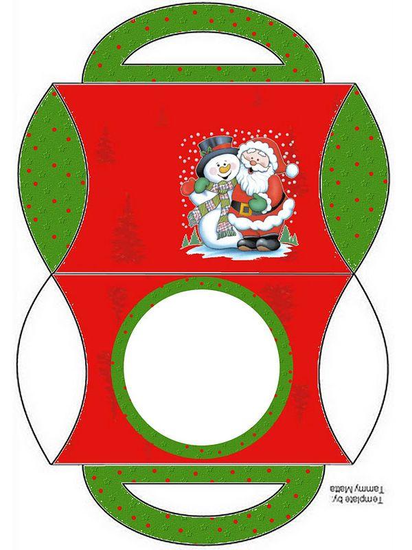 Modelos De Caixinhas Prontas De Natal Para Imprimir E Enfeitar O