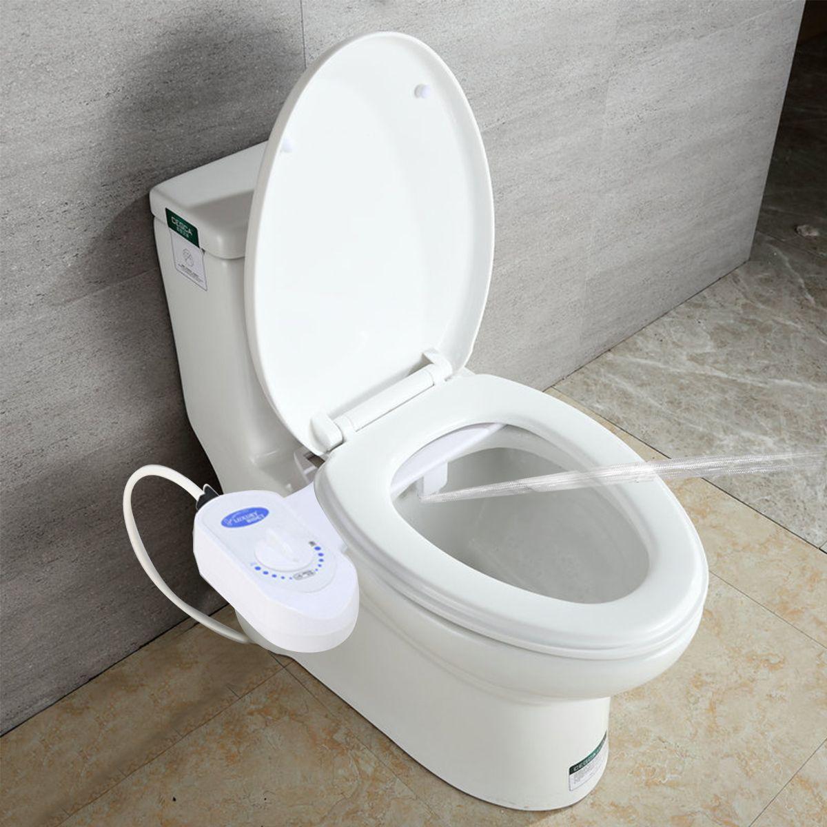 Non Electric Bidet Toilet Bidet Seat Self Cleaning Nozzle Fresh In