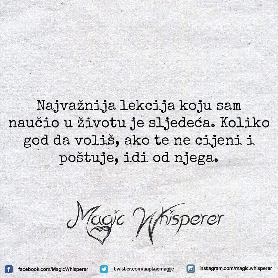 25 4k Likes 110 Comments Magic Whisperer Official Magic Whisperer On Instagram Magicw Inspirational Relationship Quotes Life Quotes Serbian Quotes