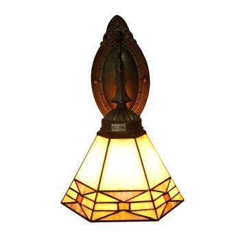 Applique en verre hexagone régulier luminaire pour salon cuisine