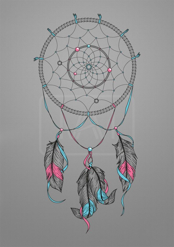 A Design Dream: Dream Catcher Drawing On Behance