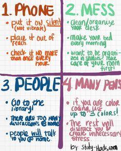 college study tips for freshmen