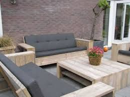Billedresultat for loungebank tuin steigerhout havemøbler lounge