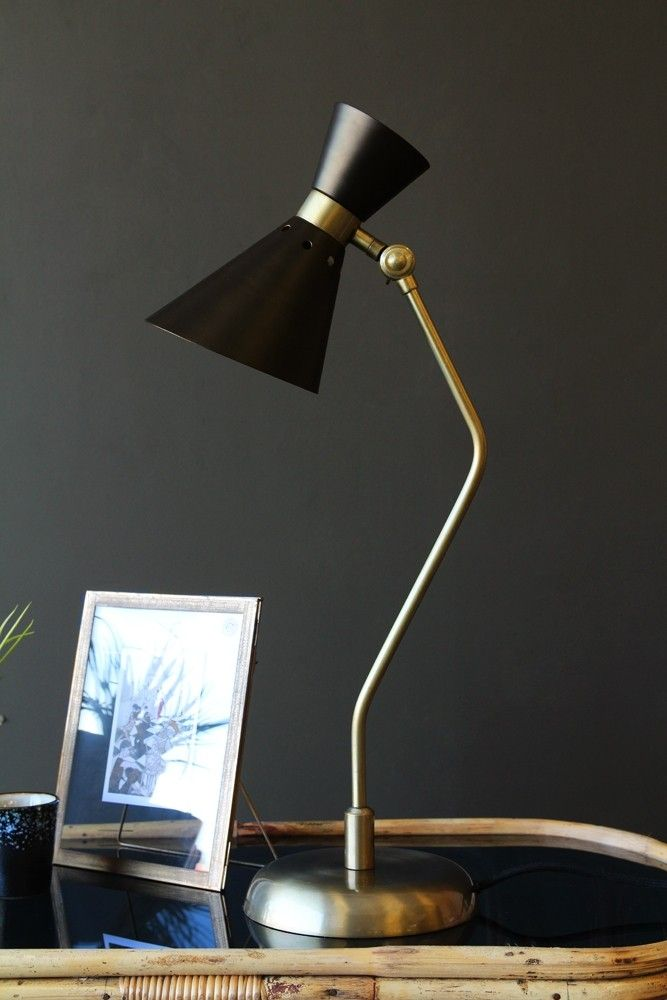 Grace Black U0026 Gold Table Lamp From Rockett St George