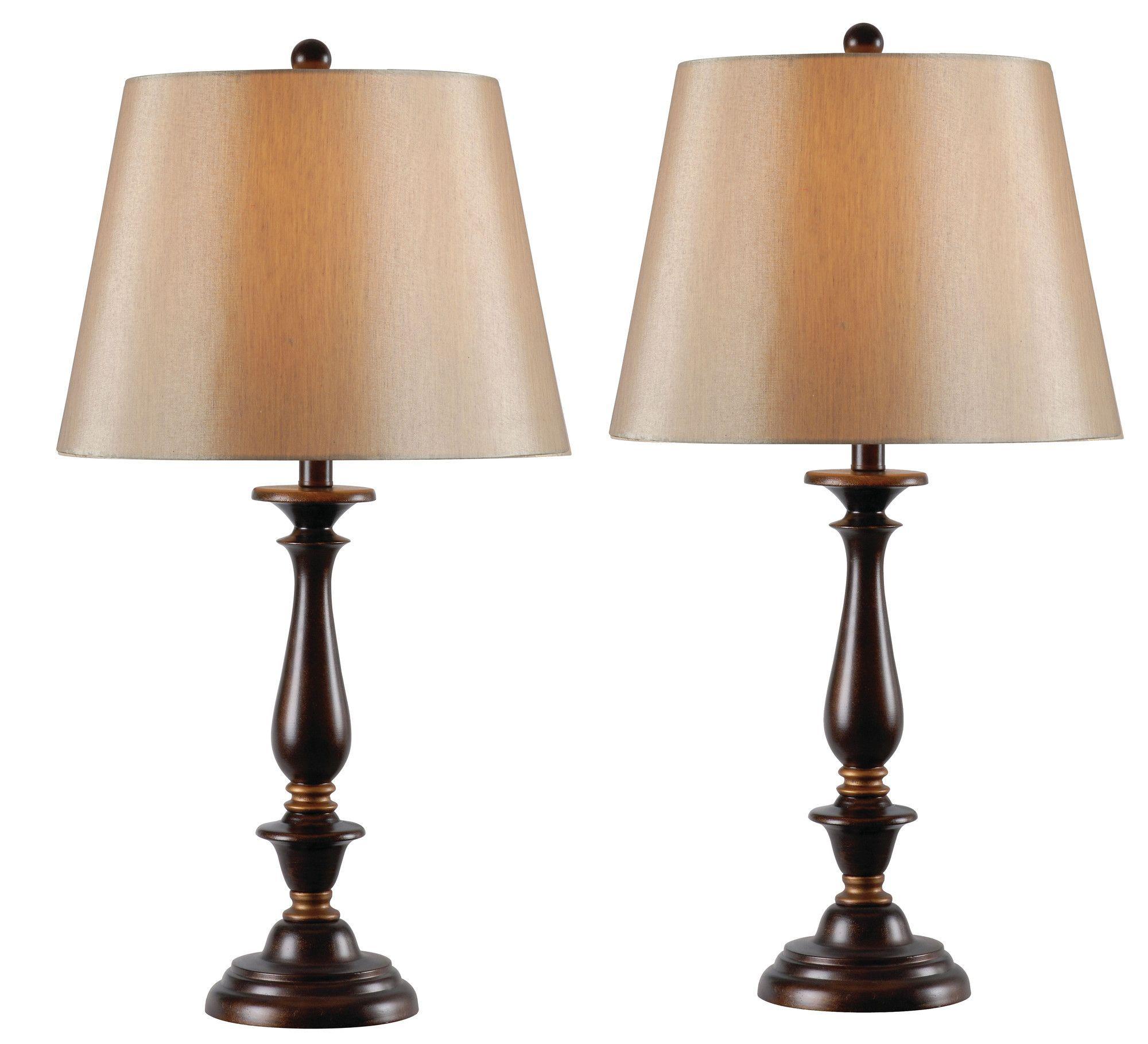 Gavin 2 Pack 285 Table Lamp Empire Shade