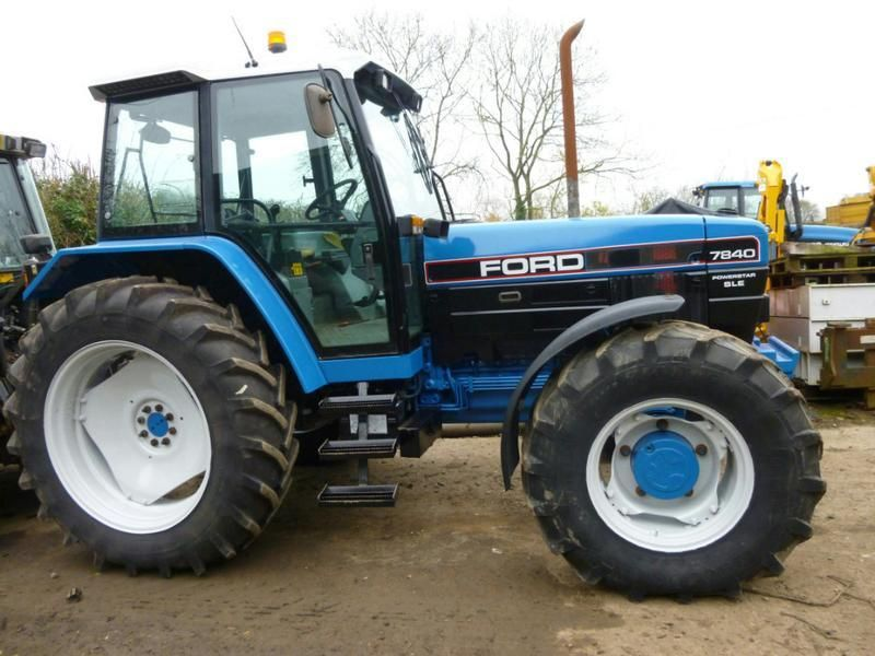 Ford 7840 Sle L Reg Photos Farm Trader Mobile Tractors Ford