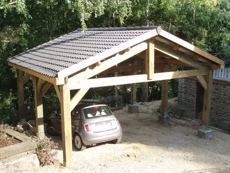 carport 2 voitures bois recherche google carport pinterest car ports carport ideas and. Black Bedroom Furniture Sets. Home Design Ideas
