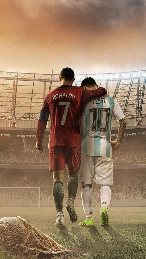From This Webpage You Can Easily Download Messi And Ronaldo Football Iphone Wallpaper Free Of Cost In This Post We Ar In 2020 Messi Photos Messi Vs Ronaldo Messi Vs