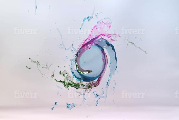 Smartseoz I Will Create 10 Eye Catching Water Splash Logo Animation For 10 On Fiverr Com Water Logo Animation Logos