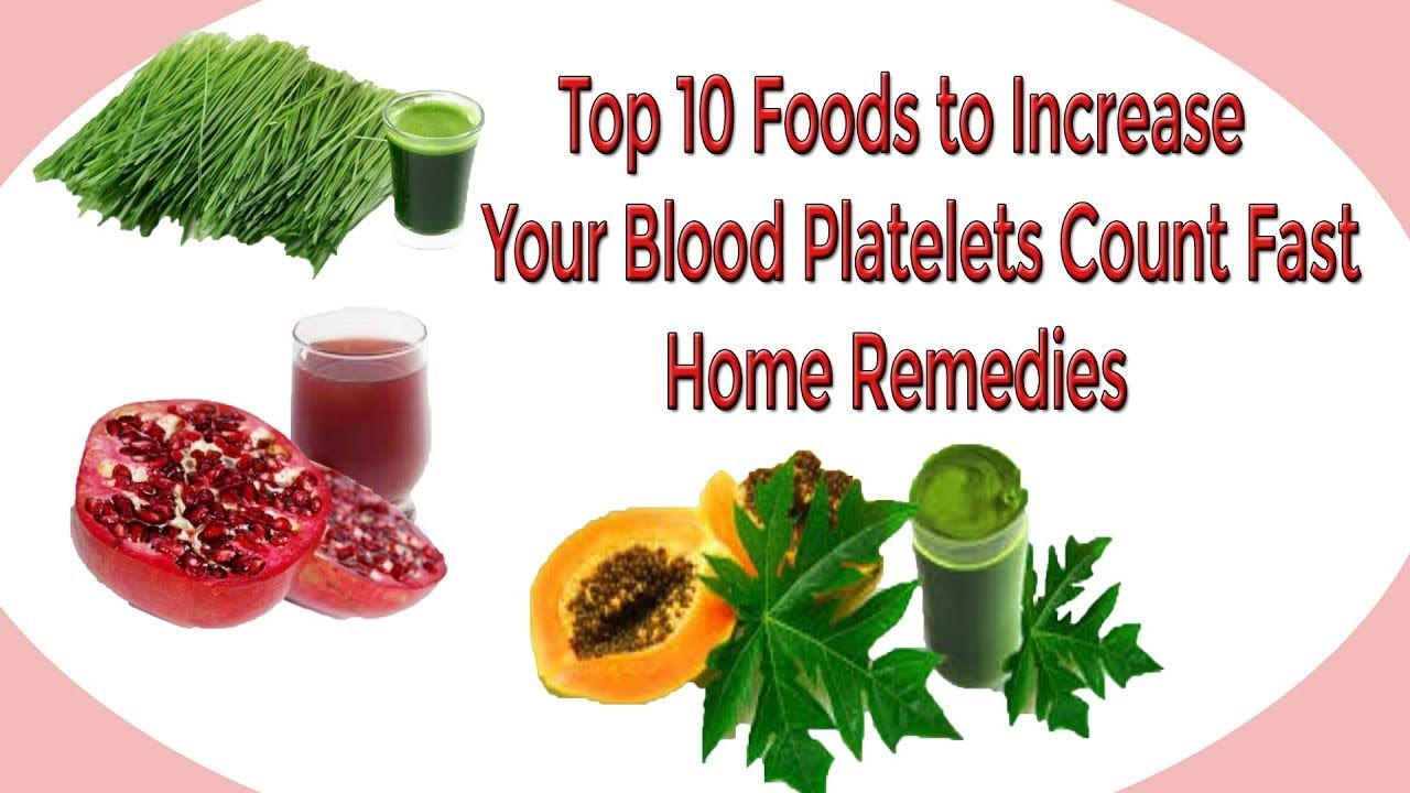 The Best Foods To Increase Your Blood Platelets Count Fast