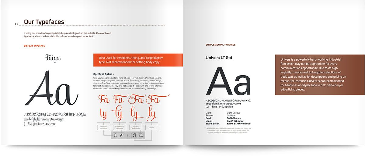 More Brand Manual And Guideline Examples Loving These Layouts